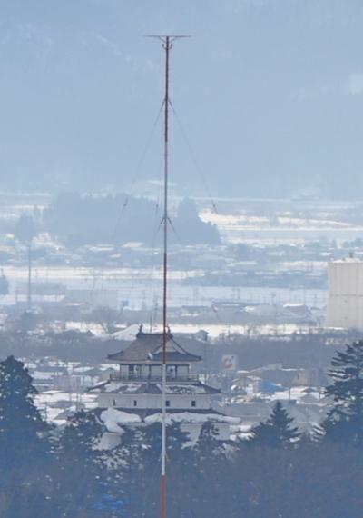 福島ドライブ旅行湯野上温泉に宿泊4-飯盛山,会津鶴ヶ城