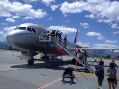 子連れでニュージーランド旅行 3 -オークランドへの到着、そしてクイーンズタウンへ