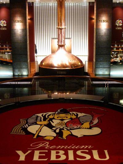 ヱビスビール記念館 有料ツアーで ☆缶ビールのうまい飲み方