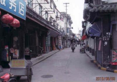 上海の金山・張堰鎮