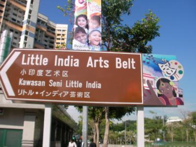 シンガポール/リトルインディア芸術区