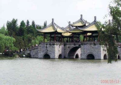 楊州の痩西湖公園