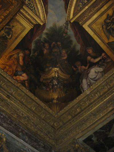 パリ旅行 2010-2011 2日目(ヴェルサイユ宮殿・ルーヴル美術館・エッフェル塔)