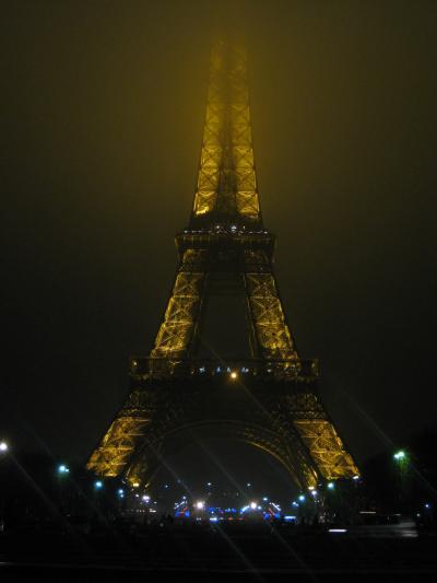 パリ旅行 2010-2011 3日目(モンサンミッシェル・ブブロン村・パリ市内イルミネーション)
