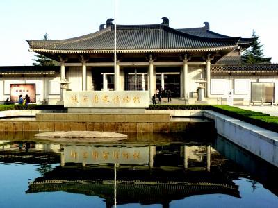 chi34「陝西歴史博物館」を垣間見る