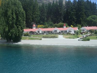 子連れでニュージーランド旅行 6 -ワカティプ湖のTSSアーンスロー号
