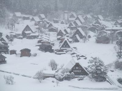 雪の白川郷・五箇山へ(3) 白川郷