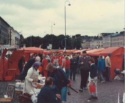 80年代のフィンランド1983.8  「初めての海外旅行は北欧にも行っちゃったよ! vol.11」  ~ヘルシンキ~
