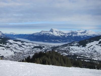 冬のシャモニー・モンブラン スキー  ラトゥール フジェール アルボア