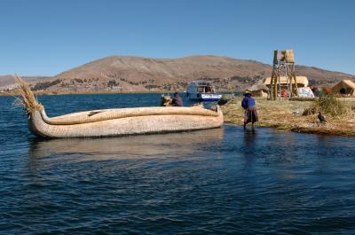 ペルー~インカ帝国の栄華の夢跡を訪ねる~ ④ティティカカ湖