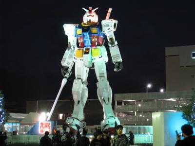 ガンダム、静岡で立ってますよ!