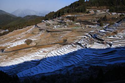 2011年冬 雪景色の丸山千枚田