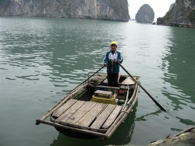 リストラ・リハビリ・心の旅 ベトナム ハロン湾 ホンガイ市場からハロン湾クルーズ