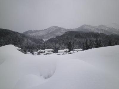 真冬の三川温泉
