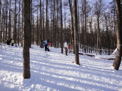 子どもたち雪デビューin那須。