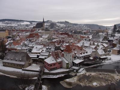 ★2010-2011東欧ぐるりと4カ国!キレイな景色に癒された年末年始⑦~Český Krumlov~★