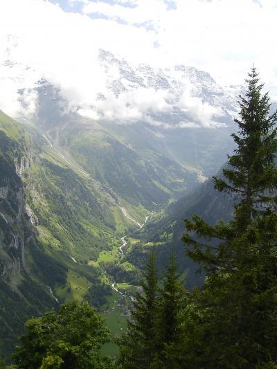 夏のヨーロッパドライブ09 シルトホルンからハイキング