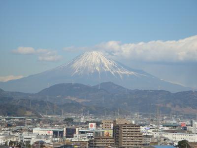 新発見・・グランシップからの富士山