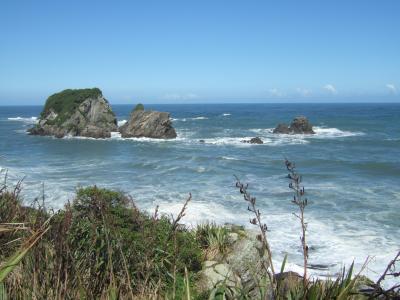 2011 ニュージーランドひとり旅再び★ウエストコースト・ファウルウインド岬編