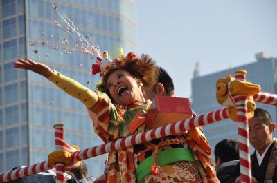 「東京芝大門・増上寺 節分追儺式(豆まき)」 2011