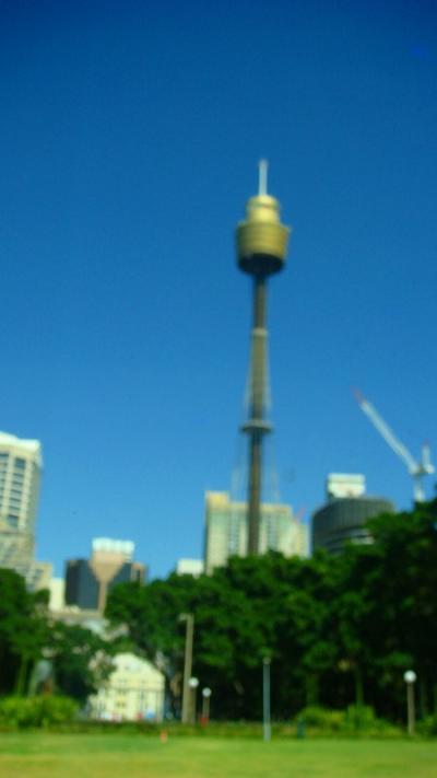シドニー空港からオペラハウスまで