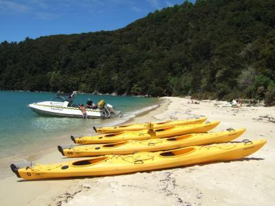 2011 ニュージーランドひとり旅再び★エイベル・タズマン国立公園編
