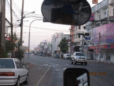 アジアハイウェイの源流を訪ねて(15)ムクダハーン(มุกดาหาร)の町。