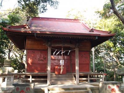 谷津浅間神社(横浜市金沢区谷津町)