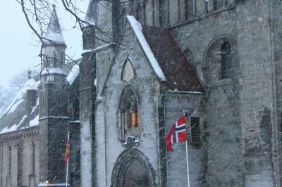 気楽にオーロラ 船の旅 in Norway  ( 5日目 礼拝初体験で新年の幕開け・・・  トロンハイムほか )
