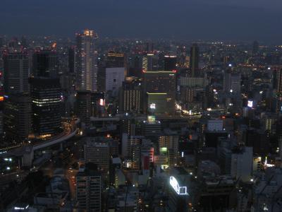 大阪・空中庭園展望台デート