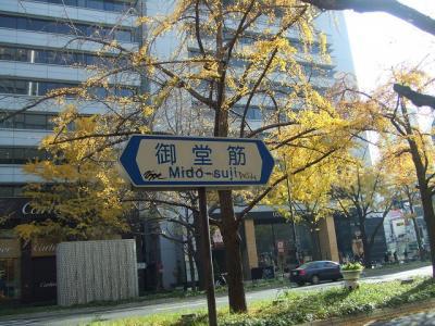 運命の最終節と紅葉の京都を訪ねて【その5】御堂筋の朝