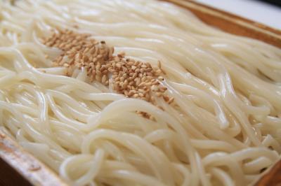 【長崎旅行】 ○ 五島うどんを食べる 「和食処 花の家」