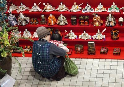 鴻巣 びっくり ひな祭り 2011 鴻巣市役所ロビー編 下編