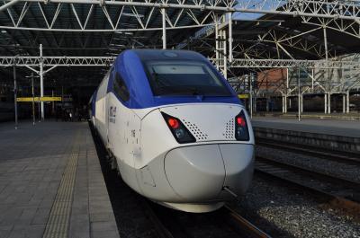 2011年2月韓国鉄道旅行3(KTX山川車両)