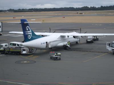 子連れでニュージーランド旅行 14 -オークランドへのフライト