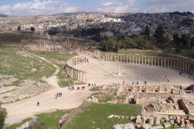 201102 ヨルダンの旅 ジェラシュ(ヨルダン)
