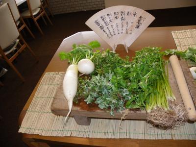 JOECOOL家毎年恒例の『城南宮七草粥』(京都市伏見区)