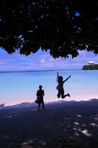 グアム旅行~スカイダイビングで空を飛んでビーチでのんびり~①