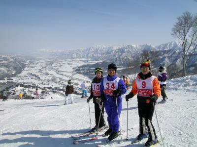 石打スキー場のスキー・パーティー Ski party in Ishiuchi Ski Resort