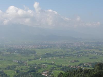 ネパール カトマンズ盆地 その3 ナガルコット~カトマンズ