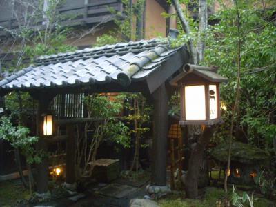 黒川温泉:谷間の宿の風情が売り