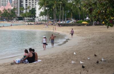 ハワイ7 ワイキキ・ビーチ2