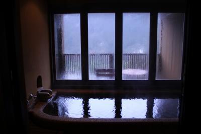 ちょっぴり早い『快気祝い』?! 今度は父と二人でじっくりと温泉を楽しんだ庄川温泉「三楽園」
