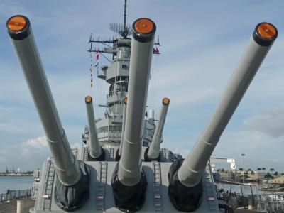 ハワイ11  パール・ハーバー2(戦艦ミズーリ記念館2)