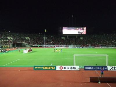 2010 夏の18きっぷ 朱都と縁結びの旅【その7】神戸ユニバで試合観戦。