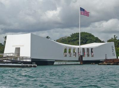 ハワイ15  パール・ハーバー6(戦艦アリゾナ記念館1)
