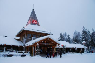 フィンランドひとり旅 ロヴァニエミ+ヘルシンキ 2日目 サンタクロース村とArktikum