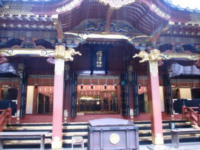 東京都内の下町・神社仏閣を巡る~雨の中、御茶ノ水を北へ~