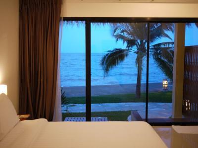 チャンタブリー チャオ ラオ ビーチ Chanthaburi Villa Phra Chan に宿泊してみました。