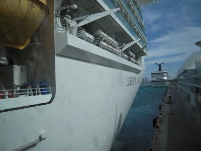 リバティ・オブ・ザ・シーズで行く西カリブ海クルーズ その③ 乗船まで